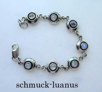 Armband Silber Mondstein