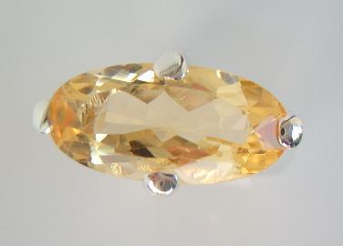 Ring Citrin Silber - Vorschau 2