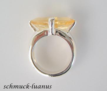 Ring Citrin Silber - Vorschau 4