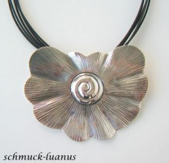Kettenanhänger Silber Schnecke