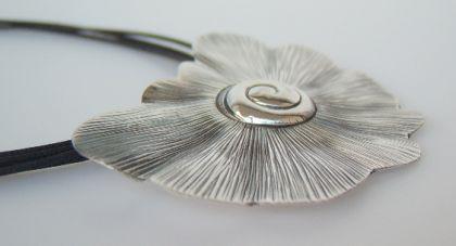 Kettenanhänger Silber Schnecke - Vorschau 2