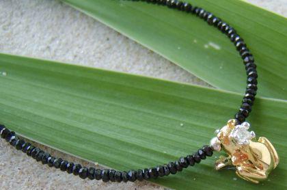 Kette Frosch Anhänger