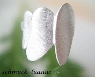 Ring Silber matt zierlich