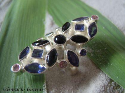 Iolith Ring Silber - Vorschau 1