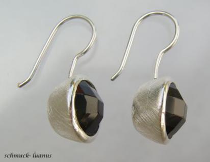 Onyx Ohrringe Silber Ohrhänger