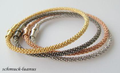 Armband Silber vergoldet