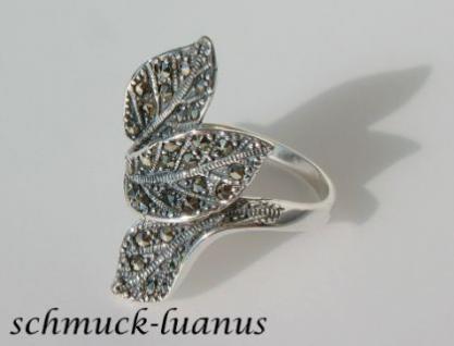Markasit Ring Silber