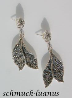 Markasit Ohrringe Silber