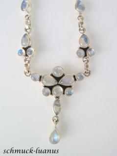 Mondstein Kette Silber - Vorschau 3