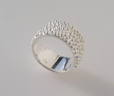 Silberring Kügelchen - Vorschau 2