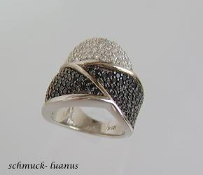 Silber Ring Pave Zirkonia