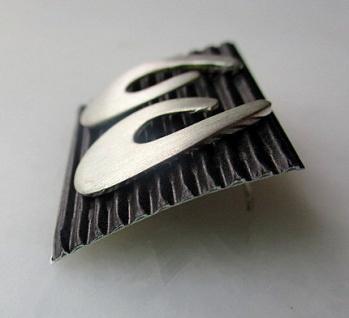 Ohrstecker Silber matt - Vorschau 2