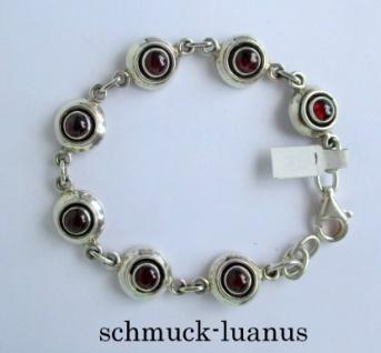 Armband Silber Granat