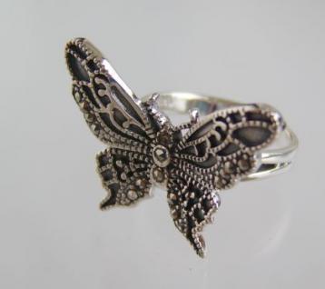 Schmetterling Ring Silber - Vorschau 2