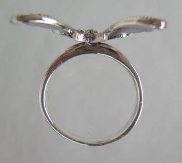 Schmetterling Ring Silber - Vorschau 4