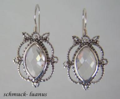 Zirkonia Ohrringe Silber