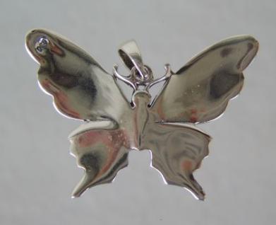 Schmetterling Anhänger Silber - Vorschau 3