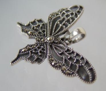 Schmetterling Anhänger Silber - Vorschau 2