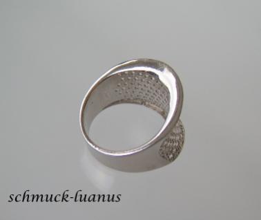 Pave Zirkonia Ring Silber weiß - Vorschau 2