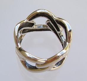Ring Silber breit Kettenring - Vorschau 3