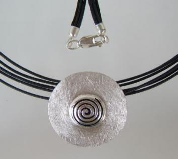 Silber Anhänger Spirale - Vorschau 4