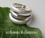 3er Ring Silber