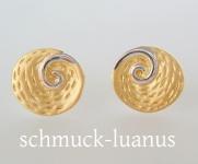 Ohrstecker vergoldet Silber