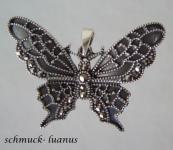 Schmetterling Anhänger Silber