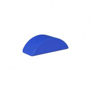 Baustein - Halbmond - 55x26x18 mm - blau