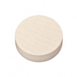 Spielsteine - rund - Holz - natur - 23 x 6 mm - Vorschau 2
