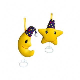 Spieluhr - Mond und Stern