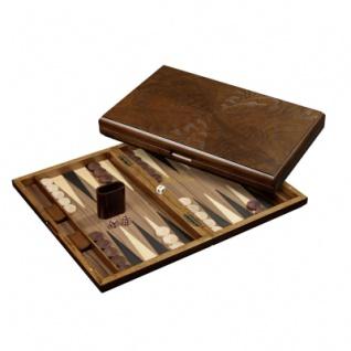 Backgammon - Kassette - Rinia - Holz - groß