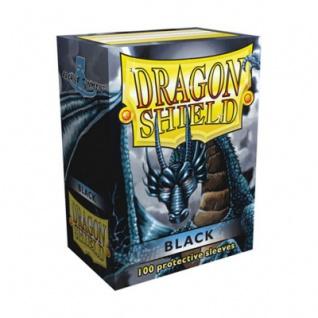 Dragon Shield - Schwarz - 100 Stück