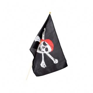 Piraten-Stockflagge 30 x 40 cm - Vorschau 2
