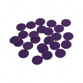 Spielchips - 22 mm - lila - matt