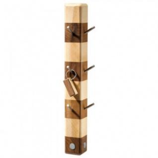 Designer-Schlüsselhalter aus Holz - ca 35 x 6 cm