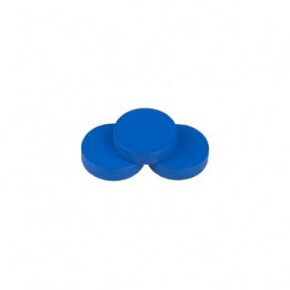 Scheibe - Rhea - 25x7mm - blau