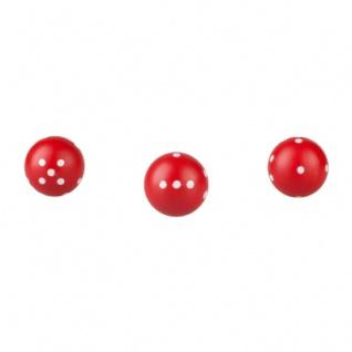 Würfel rund - rot - 21mm