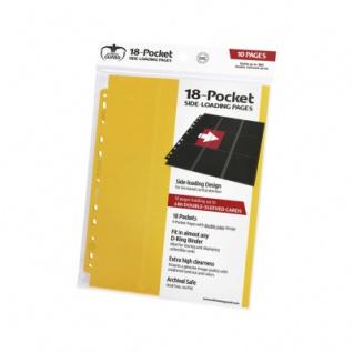 18-Pocket Side-Loading Supreme Pages Gelb - 10