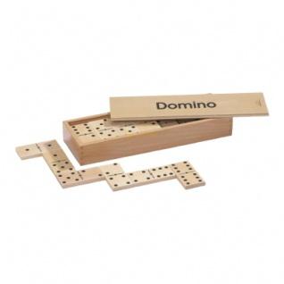 Domino - groß - Buche - 28 Spielesteine