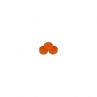 Scheibe - Merkur - 10x4mm - orange