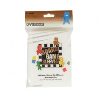 Kartenspiel-Hülle - übergroß - 100 Stück - 79 x 120 mm