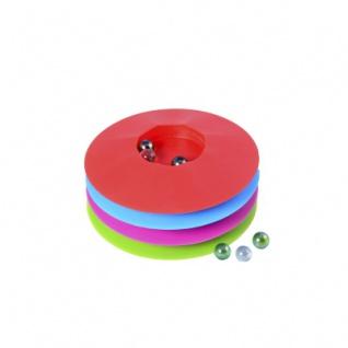 Murmelspiel 17 cm - rund - farbig sortiert