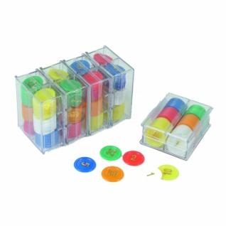 Spielchips - Roulettchips - Jetons - mit Werten - 240 Stück