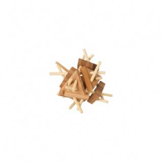 Bambus-Puzzle Dreiecke