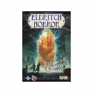 Eldritch Horror - Zeichen von Carcosa Erweiterung - deutsch