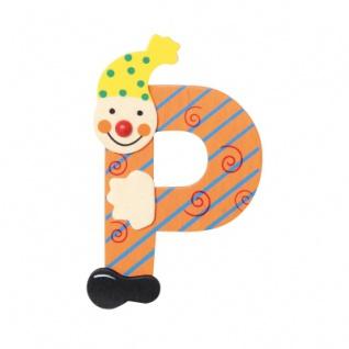 Buchstabe Clown P
