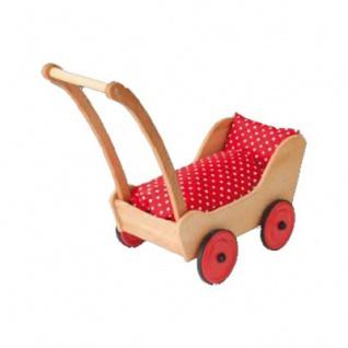 Puppenwagen - mit 3-teiligem Kissenset - 80 x 28 x 65cm