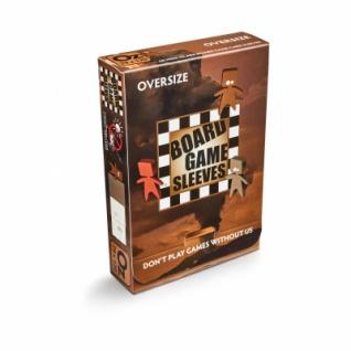 Kartenspiel-Hülle, übergroß (50 Stück, 82 x 124 mm), blendfrei