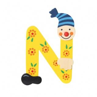 Buchstabe Clown N